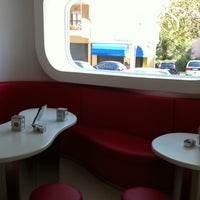 Photo taken at Gelateria Il Combattente by Fabio M. on 4/1/2011