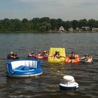 Photo taken at Garver Lake by Betty B. on 1/7/2012