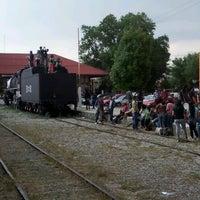 Photo taken at Vieja Estación De Ferrocarril by Enrique M. on 4/14/2012