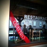 Photo taken at Restaurace Quattro by Miloslav N. on 4/30/2012