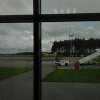 Photo taken at Bydgoszcz Ignacy Jan Paderewski Airport (BZG) by Krzysztof F. on 8/11/2012