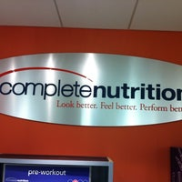 Photo taken at Complete Nutrition by J.D. W. on 12/9/2011