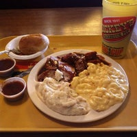 Photo taken at Dickey's BBQ Pit by Ben W. on 2/22/2012