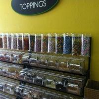 Photo taken at Corner Yogurt by Alice L. on 4/2/2012