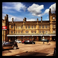 Photo taken at Shrewsbury Railway Station (SHR) by James E. on 5/6/2012