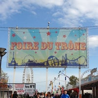 Photo taken at Foire du Trône by Laurence R. on 4/30/2012