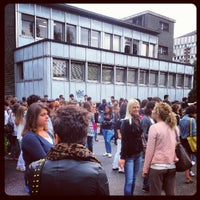 Photo taken at Settore didattico di Via Celoria by Teto S. on 9/4/2012