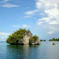 Photo taken at Raja Ampat island by Mas Eko on 5/5/2012