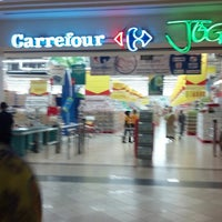 Photo taken at Carrefour by Adityo B. on 8/27/2012