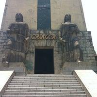 Photo taken at Monumento al General Alvaro Obregón by Miguel S. on 6/8/2012