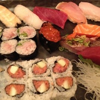Photo taken at Blue Ribbon Sushi Bar & Grill by Theda S. on 5/23/2012
