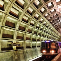 Photo taken at Federal Triangle Metro Station by Alexoli on 8/7/2012