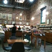 Photo taken at SOMA chocolatemaker by Sarah D. on 3/8/2012