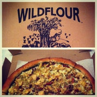 Photo taken at Wildflour Pizza by Zoe G. on 5/18/2012