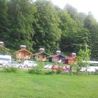 Photo taken at Güzeldere Şelalesi by Oguz Han E. on 5/27/2012