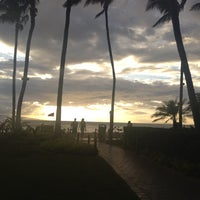 Photo taken at Kā'anapali Beach by Andrea S. on 9/7/2012