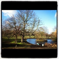 Photo taken at Wandsworth Common by Olly W. on 2/19/2012