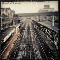 Photo taken at Charni Road Railway Station by Lionel F. on 9/7/2012
