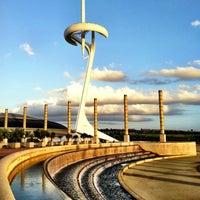 2/19/2012 tarihinde Kate K.ziyaretçi tarafından Anella Olímpica'de çekilen fotoğraf