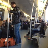 Photo taken at JFK AirTrain - Federal Circle Station by Sabrina S. on 2/15/2012