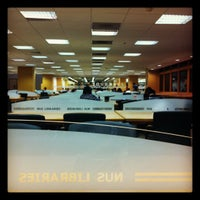 Photo taken at NUS Central Library by rYuK_oP s. on 3/14/2012
