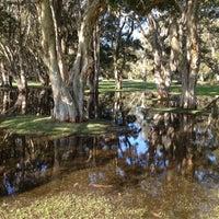 Photo taken at Centennial Park by Vesselin V. on 6/9/2012