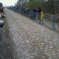 Photo taken at Trouée d'Arenberg by Arnaud D. on 4/8/2012