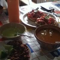 Photo taken at La Choza Del Maiz by Javier J. on 4/21/2012
