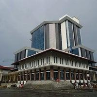 Photo taken at Gedung Rektorat Universitas Trunojoyo by Abdul M. on 2/15/2012