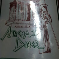 Photo taken at Athena Diner II by Austin P. on 9/12/2012