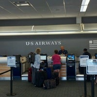 Photo taken at US Airways Check In by Brandon C. on 6/8/2012