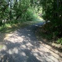 Photo taken at Lansing River Trail by HammieHamHam™ on 8/4/2012