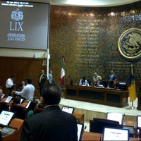 Photo taken at Poder Legislativo del Estado de Jalisco by Daniel G. on 6/28/2012