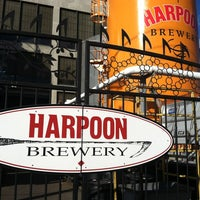 Photo taken at Harpoon Brewery by Ann on 4/27/2012