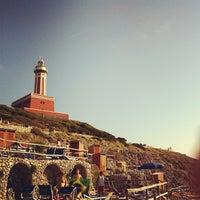 Photo taken at Faro di Punta Carena by Capri Insider on 6/2/2012