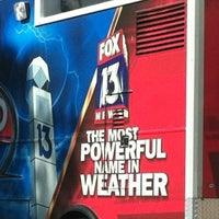Photo taken at WTVT FOX 13 by Lizz H. on 7/6/2012