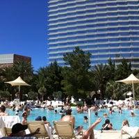 Photo taken at ARIA Pool & Cabanas by Zarek S. on 4/21/2012
