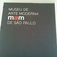 Das Foto wurde bei Museu de Arte Moderna de São Paulo (MAM-SP) von Johanna D. am 7/26/2012 aufgenommen