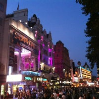 Photo taken at Leicester Square by Xenia on 8/10/2012