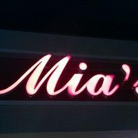 Photo taken at Mia's Italian Restaurant by robert f. on 2/22/2012