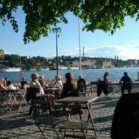 Photo taken at Café Riddarholmen by Adam V. on 6/20/2012