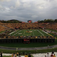 Photo taken at Faurot Field at Memorial Stadium by Steve O. on 9/2/2012
