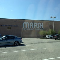 Photo taken at Marsh Supermarket by MJ W. on 3/18/2012