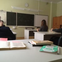 Photo taken at 411каб (10класс) by Alexander P. on 2/16/2012