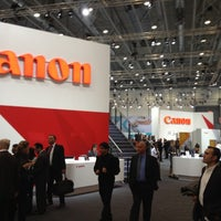 Photo taken at Canon @ Drupa 2012 by Eugenio G. on 5/9/2012