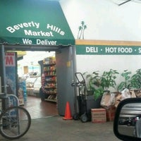 Photo taken at Beverly Hills Market & Deli by LadyC on 9/13/2012