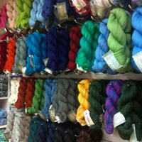 Photo taken at Over the Rainbow Yarn by Elizabeth P. on 8/16/2012
