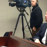 Photo taken at Wake County Courthouse by Bibi B. on 2/14/2012