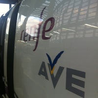 Photo taken at AVE Madrid - Barcelona by CalvoConBarba on 5/10/2012