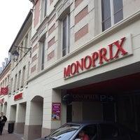 Photo taken at Monoprix by Dimitri H. on 6/25/2012